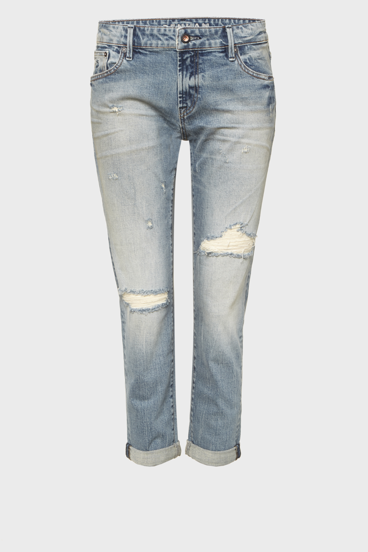 Monroe Girlfriend Tapered Fit Jeans VIBR
