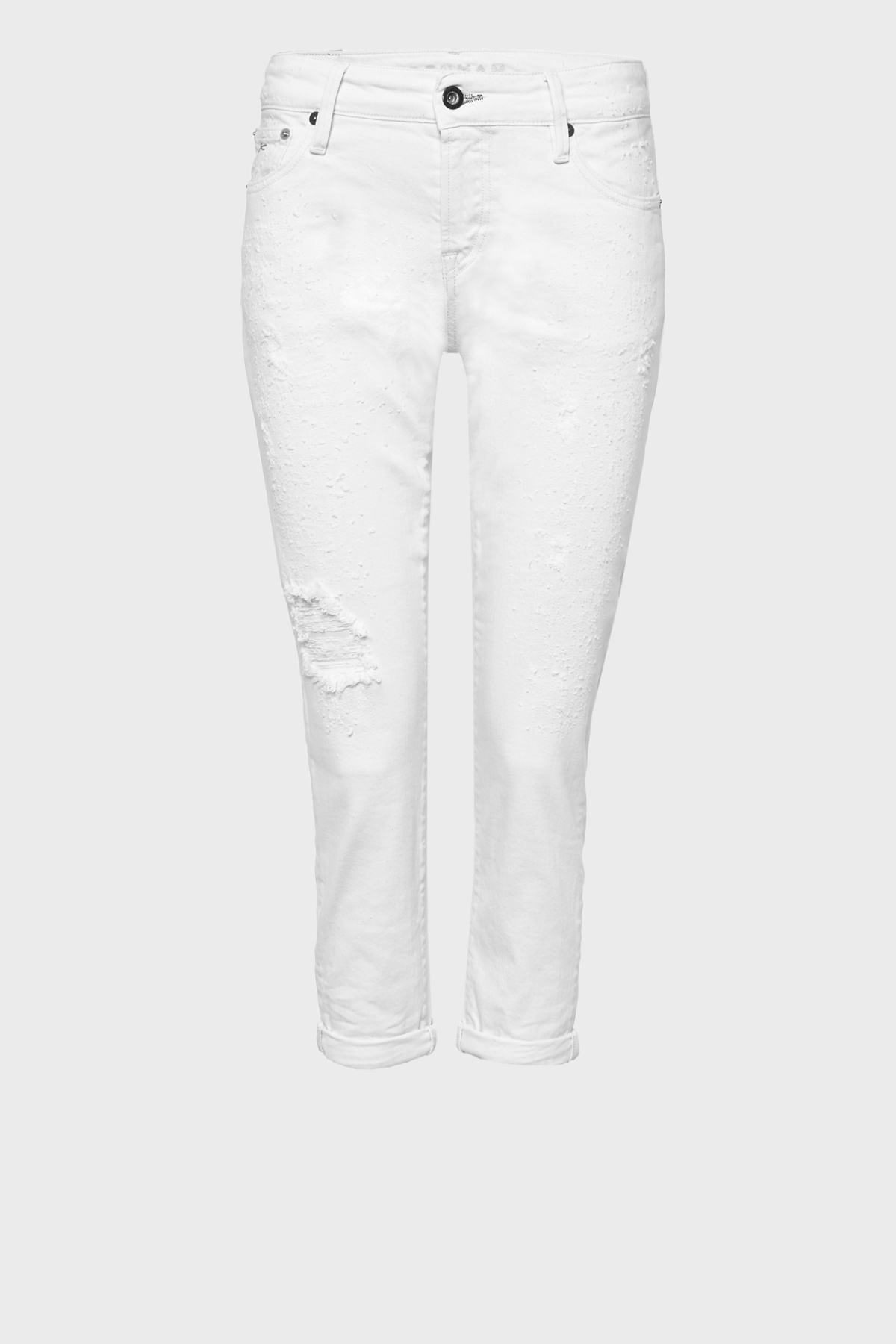Monroe Girlfriend Tapered Fit Jeans GRER
