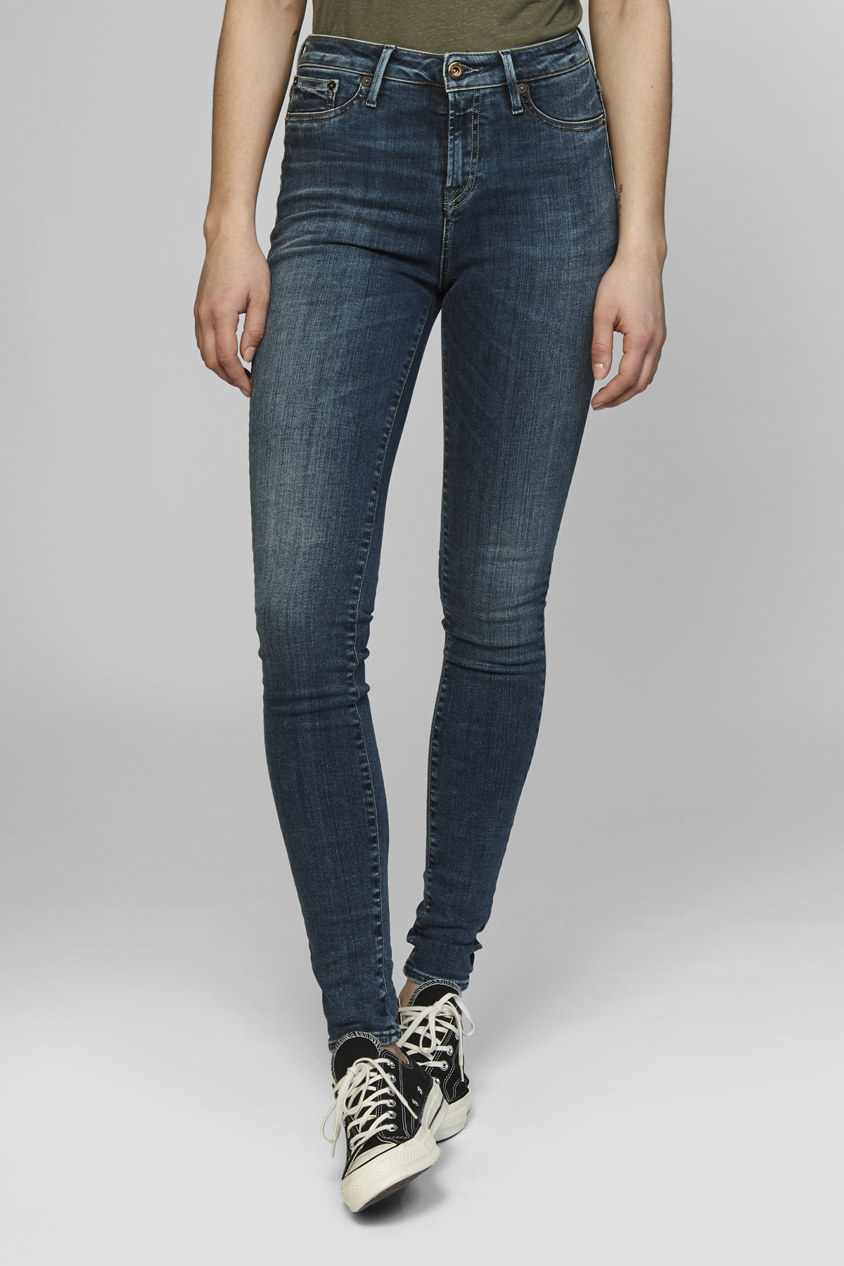 Needle High Skinny Fit Jeans R