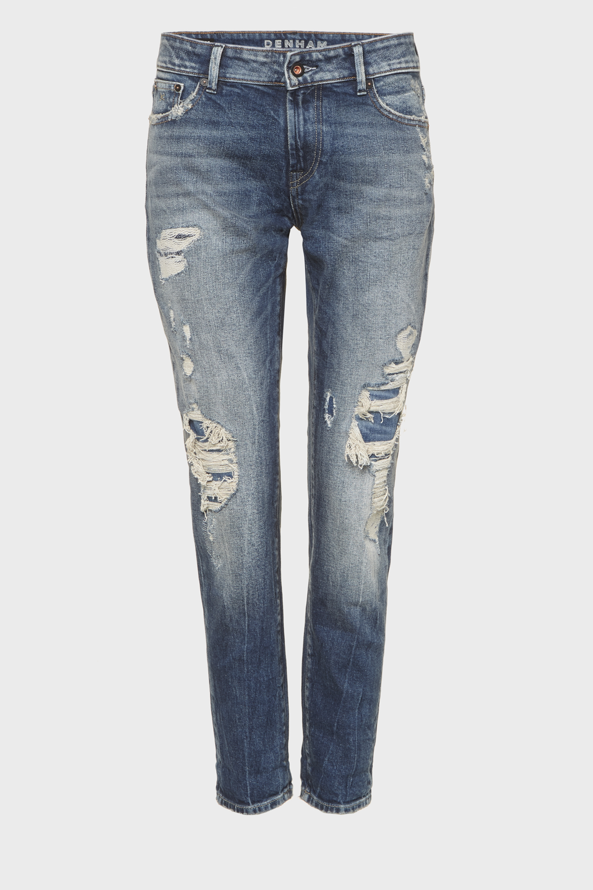 Monroe Girlfriend Tapered Fit Jeans BL