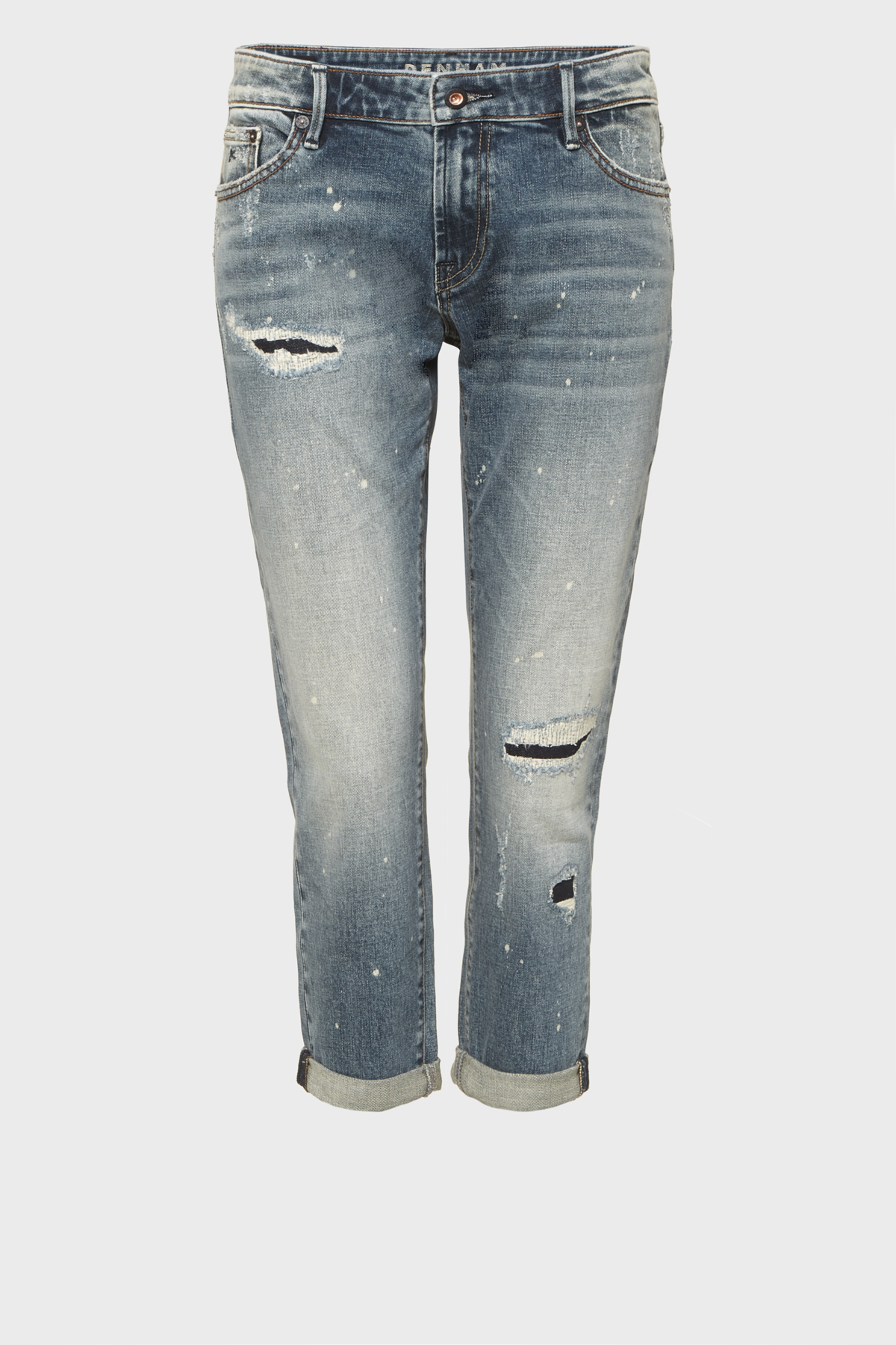 Monroe Girlfriend Tapered Fit Jeans VPRR